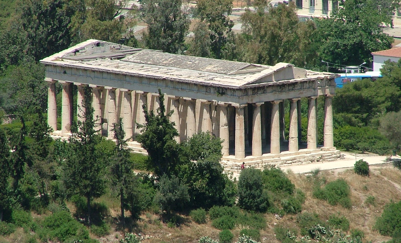 The parthenon the epitome of the doric order - The Temple Of Hephaestus In The Athenian Agora Like The Parthenon It Is Doric Order It Is A More Typical Example Of A Doric Temple Though